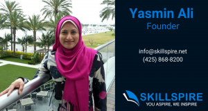 Yasmin Ali, Founder of Skillspire - Learn to Code - Train for a Tech Career - Classes in Bellevue and Renton