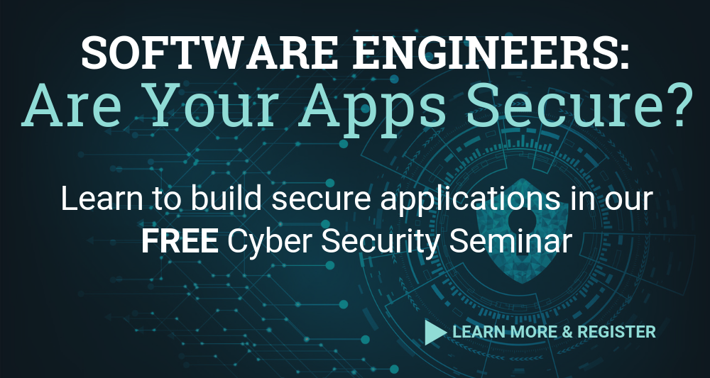 Cyber Security for Software Engineers: A Seminar - Skillspire